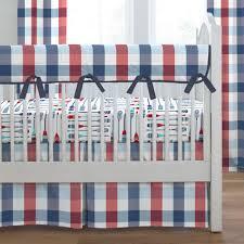 Mini Crib Bumper Pads by Blankets U0026 Swaddlings Navy Mini Crib Bumper In Conjunction With