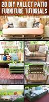 Patio Furniture Plans by 20 Diy Pallet Patio Furniture Tutorials For A Chic And Practical