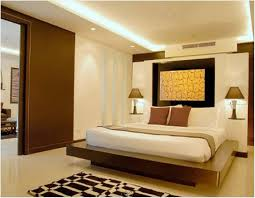 bedroom modern design wall paint color combination romantic ideas