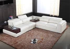 Modern White Sectional Sofa by 8812 Modern White Bonded Leather Sectional Sofa