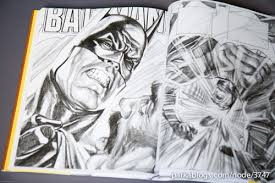 book review rough justice the dc comics sketches of alex ross
