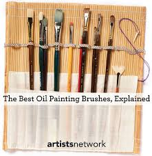 how to choose the best brushes for oil painting