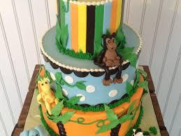 animal baby shower baby shower zoo cake ideas erniz