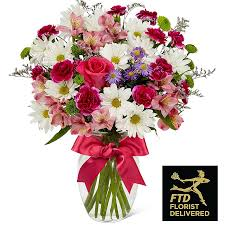 fds flowers the ftd blush bouquet