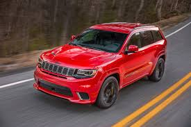 rhino jeep grand cherokee 2018 jeep grand cherokee trackhawk priced at 86 995 the torque