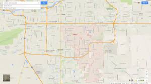 Chandler Arizona Map by Gilbert Arizona Map