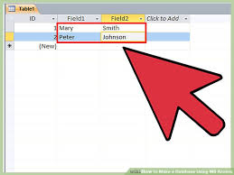 membuat form login dengan ms access 2007 how to make a database using ms access with pictures wikihow