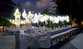 Wedding Chandeliers Beach Wedding Decorations