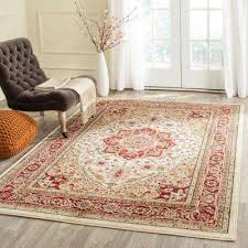 Brown And Orange Area Rug Safavieh Area Rugs Rugs The Home Depot