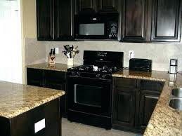 what color of cabinets go with black appliances appliances colors tile cabinets info kitchen microwave