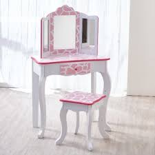 childrens dressing table mirror with lights girls vanity table wayfair co uk
