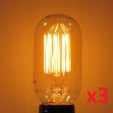 antique light bulb fixtures 3 pack 40 watt t14 radio edison antique light bulb squirrel cage