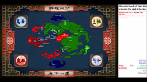 Map Of Avatar Last Airbender World by Alternate Wars Avatar The Last Air Bender Alternate 100 Years