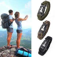 survival bracelet survival kit images New camping hiking climbing paracord bracelet outdoor survival jpg