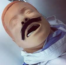 Cpr Dummy Meme - movember nursing dummy sim man nurse humor nursing humor