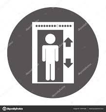elevator emblem icon image u2014 stock vector djv 137301232