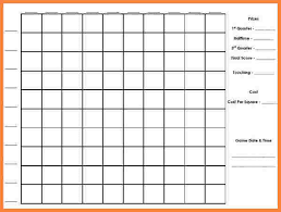 Football Squares Template Excel 8 Football Squares Spreadsheet Costs Spreadsheet