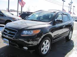 hyundai santa fe 2007 black used 2007 hyundai santa fe limited 4wd for sale stock h11587a