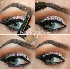 proper way to fill in eyebrows step by step tutorial on how to fill in eyebrows fashionisers