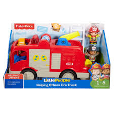 little people helping others fire truck walmart com