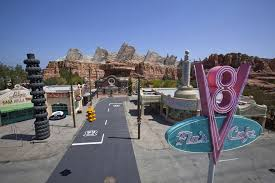 by the numbers cars land at disney california adventure park
