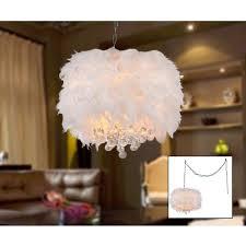 feather chandelier feather chandelier wayfair