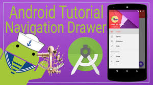 tutorial android user android tutorial 9 the navigation drawer youtube