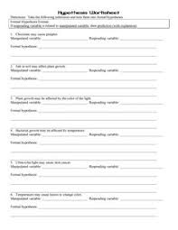 the scientific method reading comprehension worksheets