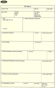 Problem Solving Template Excel A3 Is A Powerful Tool From Both A Lean Culture Development