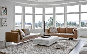 Low Profile Rug Tri Core Pillow In Living Room Contemporary With Low Profile