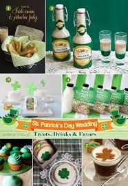 St Patrick U0027s Day Wedding Irish Inspired Treats And Favors