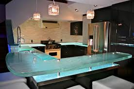 glass kitchen island bio glass kitchen countertops modern kitchen furniture photos