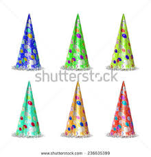 new year items new years hat stock images royalty free images vectors