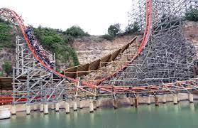 New Texas Giant Six Flags Over Texas Iron Rattler Six Flags Fiesta Texas Coaster Review