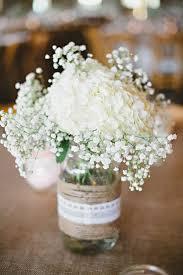 Mason Jars Wedding Centerpieces by 45 Chic Rustic Burlap U0026 Lace Wedding Ideas And Inspiration Mason