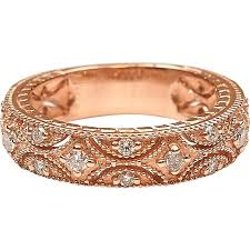 gold bands rings images 33 ctw diamond 14k rose gold band ring arnold jewelers png