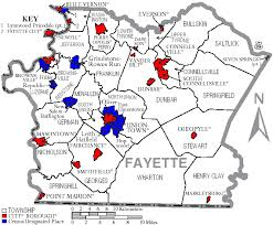 fayette county maps file map of fayette county pennsylvania with municipal and