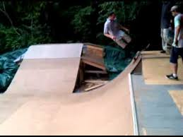 Backyard Skateboard Ramps Sweet Backyard Skate Ramp In Plattsburgh Ny Youtube