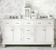 Bathrooms With Double Vanities Double Bathroom Vanities Pottery Barn