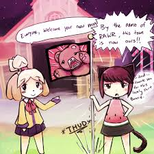 Animal Crossing Villager Meme - animal crossing new leaf by luminaura on deviantart