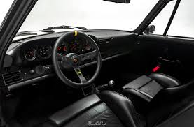 old porsche interior backdated porsche 911 gets detailed u0026 new gold vinyl side stripes