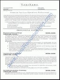 Financial Advisor Resume Objective Resume For Financial Advisor Free Resume Example And Writing