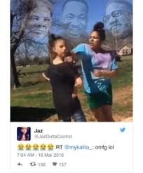 Black Girl Memes - black girl who punches white girl for calling her the n word becomes