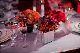 Red And Gold Reception Decoration Red And Silver Wedding Table Decorations Tbrb Info