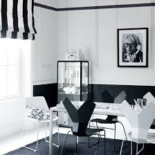 black and white dining room ideas black and white decorating ideas decorating ideal home
