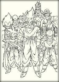 print dragon ball coloring pages