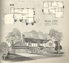 Tudor House Plans With Photos by Vintage House Plans 2141 Antique Alter Ego