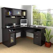 Modern Workstation Desk by L Shaped Computer Desk With Hutch Office Workstation Home Table