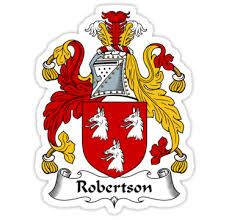 robertson coat of arms robertson family crest stickers by