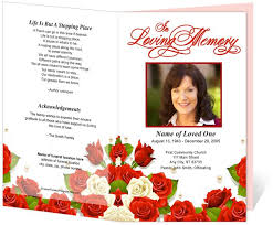 Elegant Funeral Programs 214 Best Creative Memorials With Funeral Program Templates Images